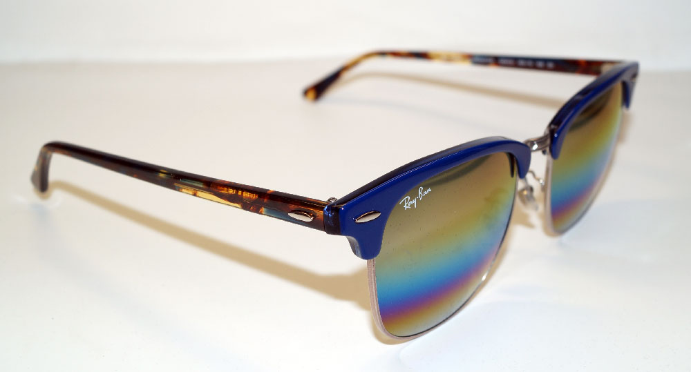 RAY BAN Sonnenbrille Sunglasses RB 3016 1223C4 Gr.49 Clubmaster
