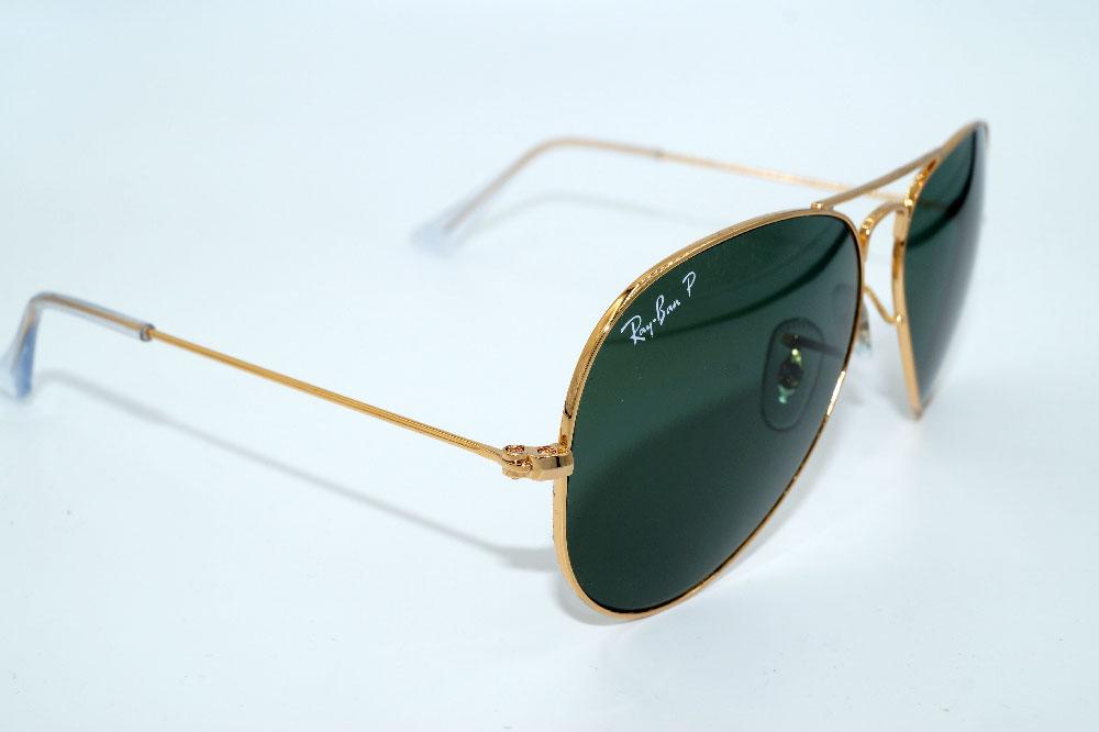 RAY BAN Sonnenbrille Sunglasses RB 3025 001 58 Gr.58 Aviator Polarized