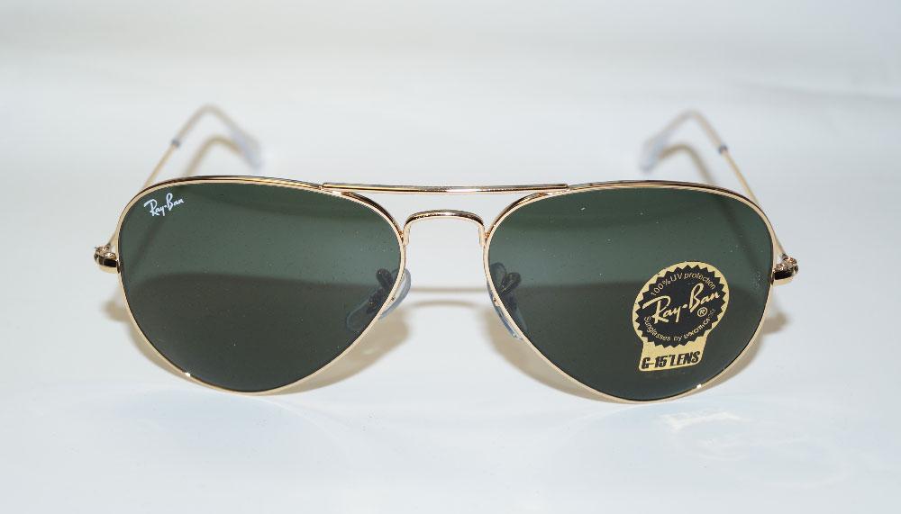 RAY BAN Sonnenbrille Sunglasses RB 3025 W3234 Größe 55 Aviator