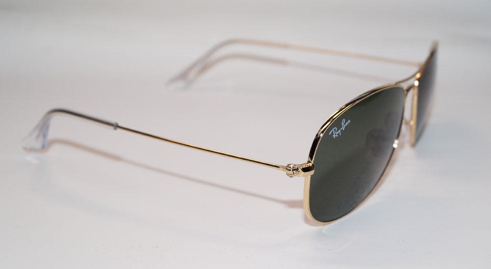 Lunettes de soleil RAY BAN lunettes de soleil RB 3362 001 taille 56 cockpit  Highstreet 33d068af22f9