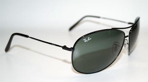 RAY BAN Sonnenbrille Sunglasses RB 3454E 002/71 Größe 65