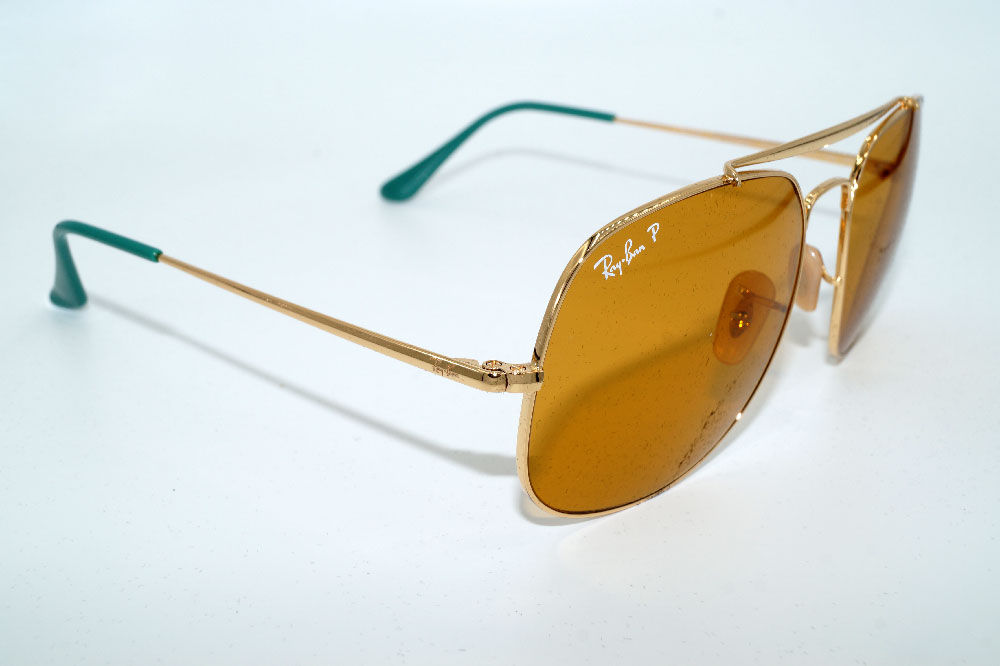 RAY BAN Sonnenbrille Sunglasses RB 3561 9105N9 Gr.57 Polarized