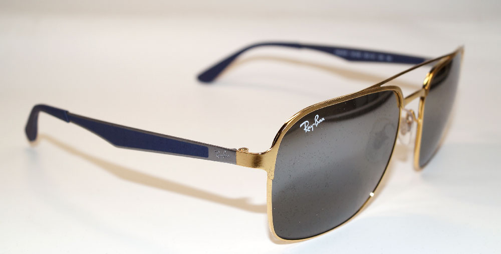 RAY BAN Sonnenbrille Sunglasses RB 3570 001/88 Gr.58