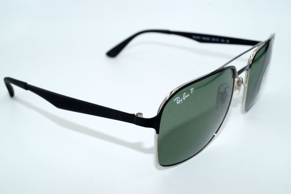 RAY BAN Sonnenbrille Sunglasses RB 3570 90049A Gr.58 Polarized